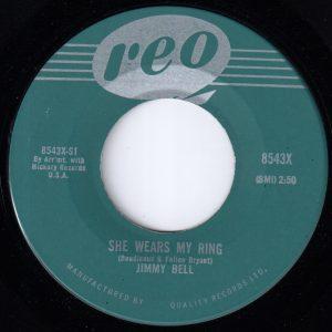 She Wears My Ring by Jimmy Bell