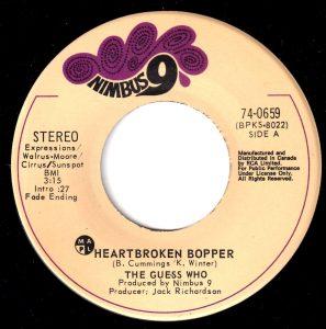 Heartbroken Bopper by The Guess Who