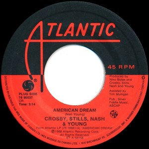 American Dream by Crosby, Stills, Nash & Young