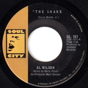 The Snake by Al Wilson