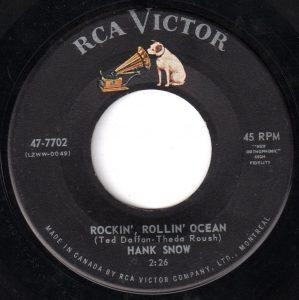 Rockin' Rollin' Ocean by Hank Snow