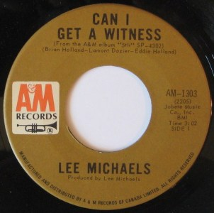 Can I Get A Witness by Lee Michaels