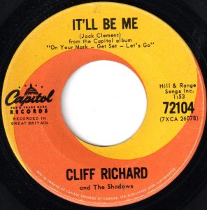 It'll Be Me by Cliff Richard