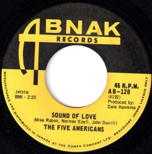 Sound Of Love by The Five Americans
