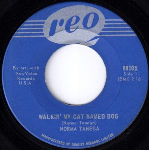 Walking My Cat Named Dog by Norma Tanega