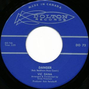 Danger by Vic Dana