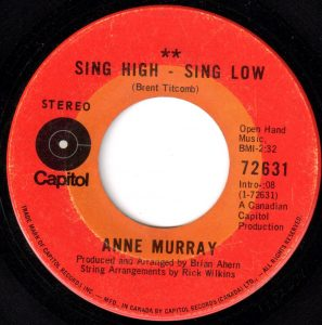 Sing High - Sing Low by Anne Murray