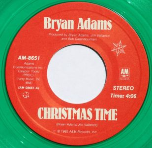 Christmas Time by Bryan Adams