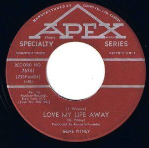 (I Wanna) Love My Life Away by Gene Pitney