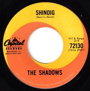 Shindig by The Shadows