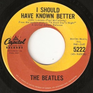 I Should Have Known Better by The Beatles