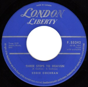 Three Steps To Heaven by Eddie Cochran