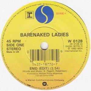 Enid by Barenaked Ladies