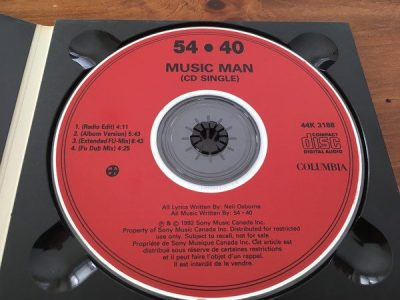 Music Man by 54-40