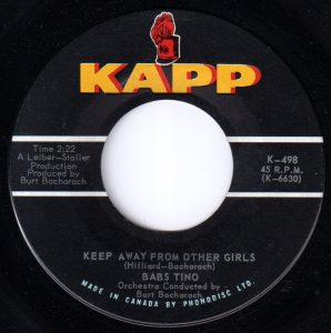 Keep Away From Other Girls by Babs Tino