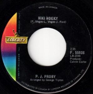Niki Hoeky by P.J. Proby