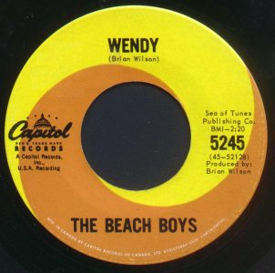 She Knows Me Too Well/Wendy by The Beach Boys