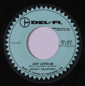 Judy Loves Me by Johnny Crawford