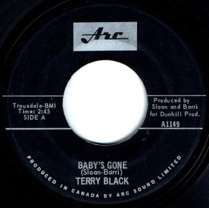Baby's Gone by Terry Black