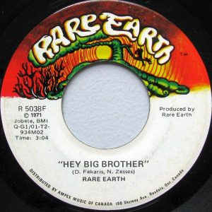 Hey Big Brother by Rare Earth