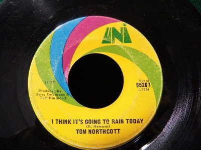 I Think It's Gonna Rain Today by Tom Northcott