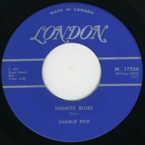 Midnite Blues by Charlie Rich