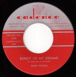 Bandit of My Dreams by Eddie Hodges