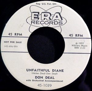 Unfaithful Diane by Don Deal