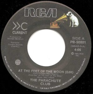 At The Feet Of The Moon by The Parachute Club