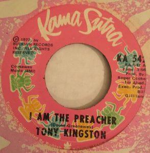 I Am The Preacher by Tony Kingston