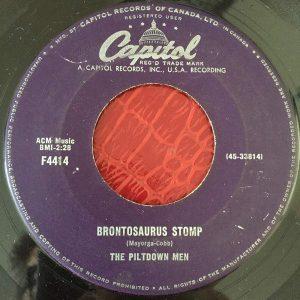 Brontosaurus Stomp by Piltdown Men