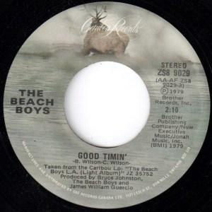 Good Timin' by The Beach Boys