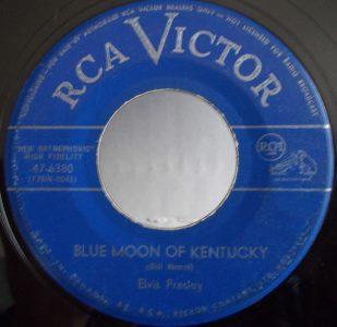 Blue Moon Of Kentucky by Elvis Presley