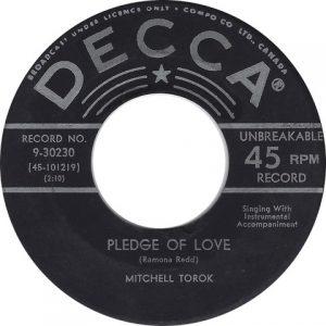 Pledge Of Love by Mitchell Torok