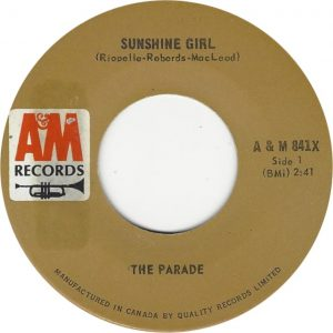 Sunshine Girl by The Parade