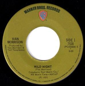 Wild Night by Van Morrison