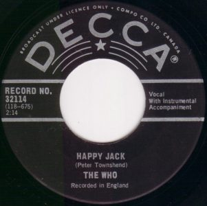 Happy Jack by The Who