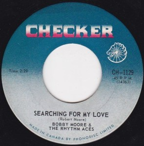 Searching For My Love by Bobby Moore's Rhythm Aces