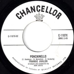 Ponchinello by Frankie Avalon