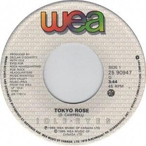 Tokyo Rose by Idle Eyes
