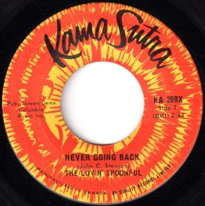 Never Going Back by the Lovin' Spoonful