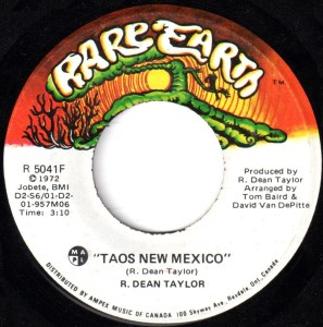 Taos New Mexico by R. Dean Taylor