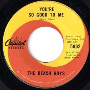 You're So Good To Me by the Beach Boys