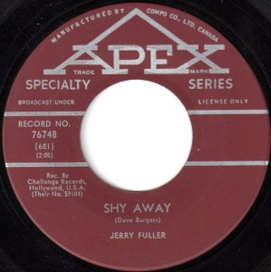 Shy Away by Jerry Fuller