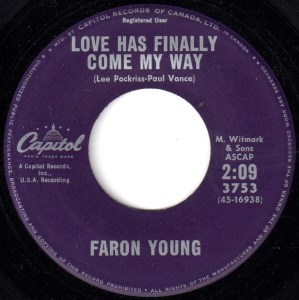 Love Has Finally Come My Way by Faron Young