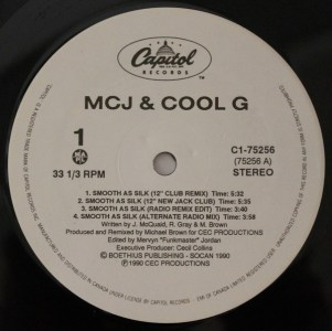 Smooth As Silk by MCJ & Cool G