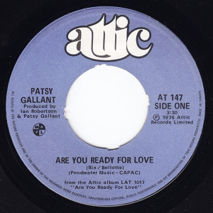 Are You Ready For Love by Patsy Gallant