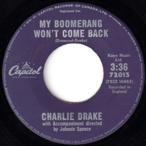 My Boomerang Won't Come Back by Charlie Drake