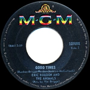 Good Times by Eric Burdon And The Animals