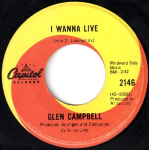 I Wanna Live by Glen Campbell